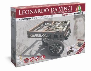 Leonardo da Vinci - Automobile - self propelling cart - Italeri