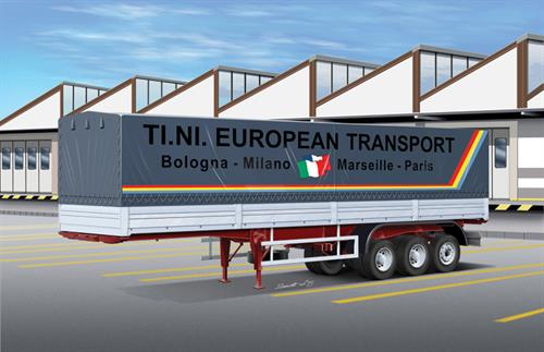 Classic Canvas Trailer - 1:24 - Italeri