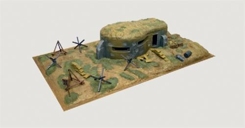 WWII bunker & accessories - 1:72 - Italeri
