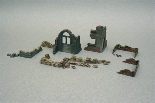 Walls and Ruins WWII (#1) - 1:72 - Italeri