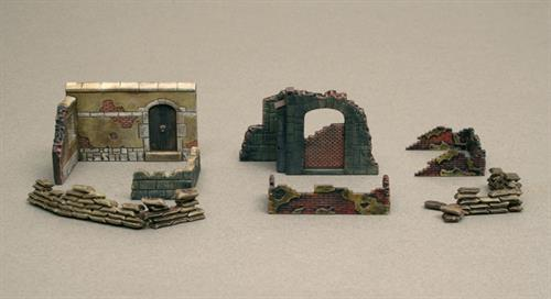 Walls and Ruins WWII (#2) - 1:72 - Italeri