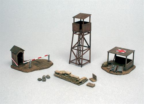 Battlefield buildings - 1:72 - Italeri