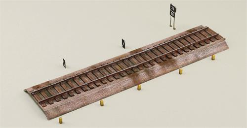 Rail tracks - 1:72 - Italeri