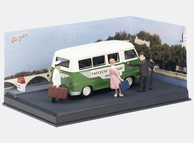 THE TOURISTS - Renault Estafette Minibus - 1:43 - Altaya