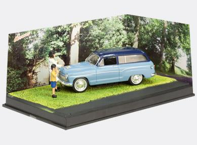 THE SNACK - Simca P60 Ranch, light blue - 1:43 - Altaya