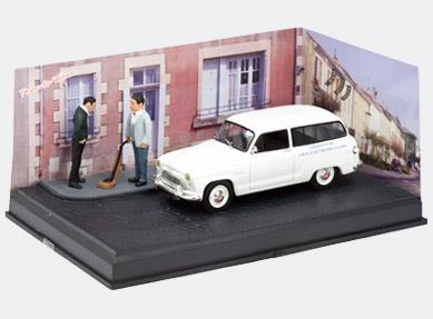 THE SALESMAN - Simca Aronde Break, white - 1:43 - Altaya