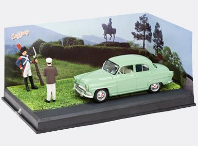THE SOLDIER - Simca Aronde, light green - 1:43 - Altaya
