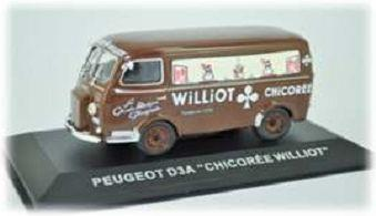Peugeot D3A - CHICOREE WILLIOT - 1:43 - Altaya
