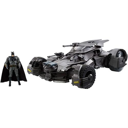 Justice League R/C Batmobile + Figure - Mattel