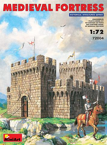 Medieval Fortress - 1:72 - MiniArt