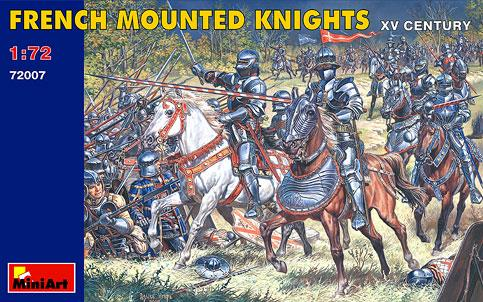 French Mounted Knights - 1:72 - MiniArt