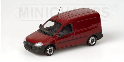 Opel Combo van (2002), red - 1:43 - Minichamps