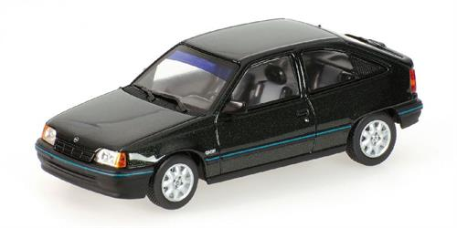 Opel Kadett E (1989), dark green metallic - 1:43 - Minichamps