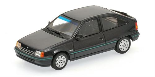 Opel Kadett E (1989), black metallic - 1:43 - Minichamps