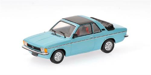 Opel Kadett C Aero (1977/78), light blue - 1:43 - Minichamps