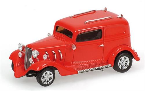 American Hot Rod, red - 1:43 - Minichamps