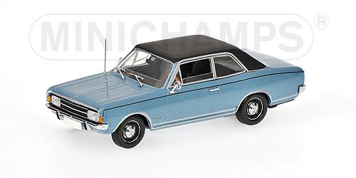 Opel Commodore A (1966), blue metallic - 1:43 - Minichamps