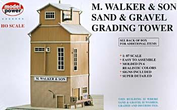 M. Walker & Son, sand- og grussorteringstårn - H0 - Model Power