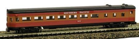 Streamline observation car, Southern Pacific - N - Model Power