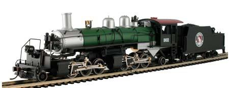 2-6-6-2 Articulated locomotive w/tender - Great Northern, Mantua Classics, H0 DC