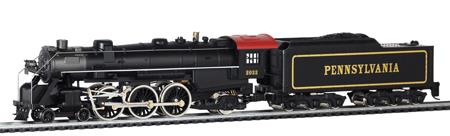 4-6-2 Pacific w/long haul tender - Pennsylvania, Mantua Classics, H0 DC