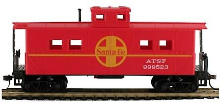 36' Steel Cabose - ATSF, H0 DC