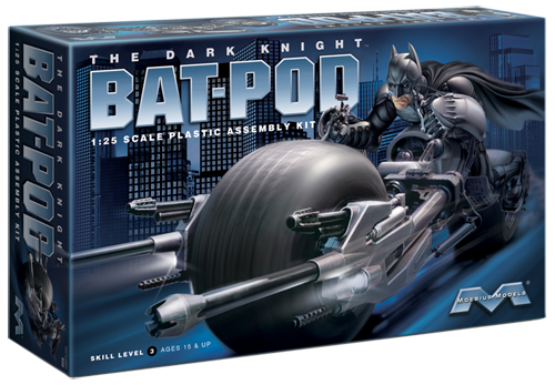 "Bat-Pod ""The Dark Knight"" - 1:25 - Moebius Models"