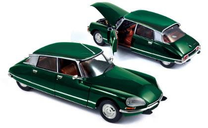 Citroën DS 23 Pallas, charmille green (1972) - 1:18 - Norev