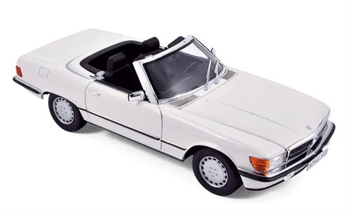 Mercedes-Benz 300 SL (1986), white - 1:18 - Norev
