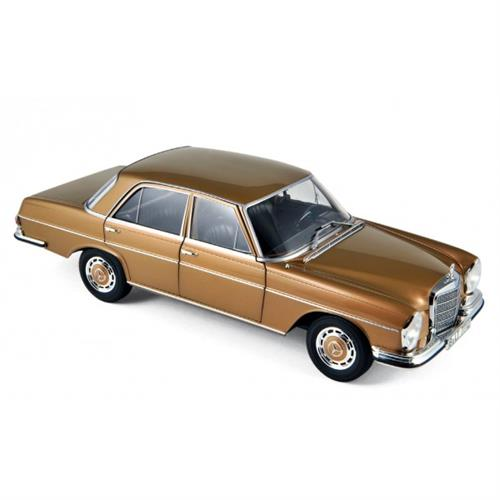 Mercedes-Benz 280 SE (1968), gold metallic - 1:18 - Norev