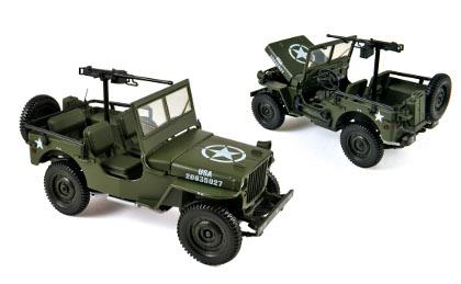 Jeep 1942, US Army - 1:18 - Norev