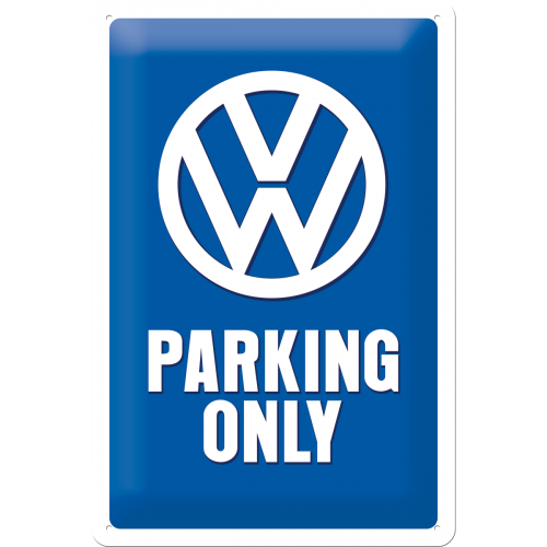 "Blikskilt 20x30 cm ""VW Parking Only"" - Nostalgic Art"