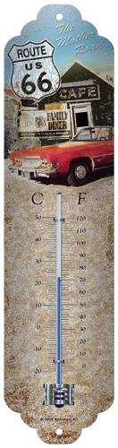 "Termometer ""Route 66 - The Mother Road"" - Nostalgic Art"