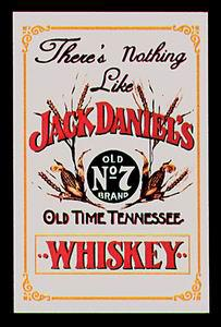 "Spejl ""Jack Daniels there's nothing like..."" - Nostalgic Art"