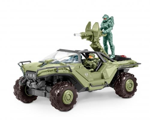 "HALO - UNSC Warthog m/lys & lyd - 1:32 - ""Build  & Play model kit"" - Revell (D) 00060 / Revell Monogram (US) 85-1766"