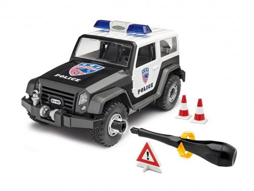 Offroad Vehicle Police - 1:20 - Junior Kit - Revell