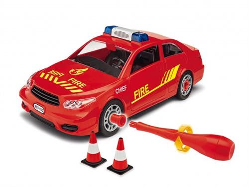 Fire chief car - 1:20 - Junior Kit - Revell