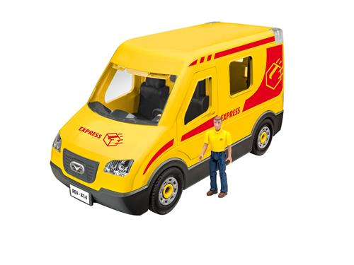 Delivery Truck with figure - 1:20 - Junior Kit - Revell