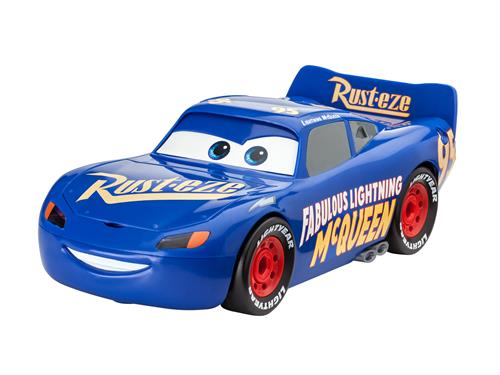 Cars 3: The Fabulous Lightning McQueen m/lys & lyd - 1:20 - Junior Kit - Revell