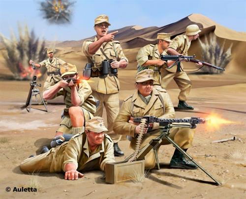 German Africa Corps, WWII - 1:76 - Revell (Udsolgt fra fabrik)