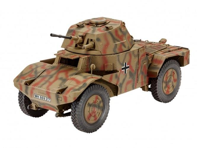 Armoured Scout Vehicle P204 (f) - 1:35 - Revell
