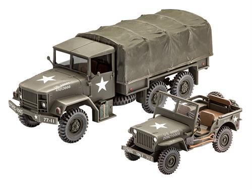 M34 Tactical Truck + Off-Road Vehicle - 1:35 - Revell