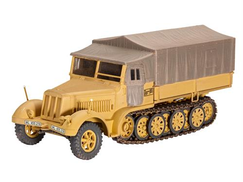 Sd.Kfz. 7 (Late Production) - 1:72 - Revell