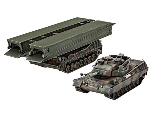 "Leopard 1A5 & Bridgelayer ""Biber"" - 1:72 - Revell"