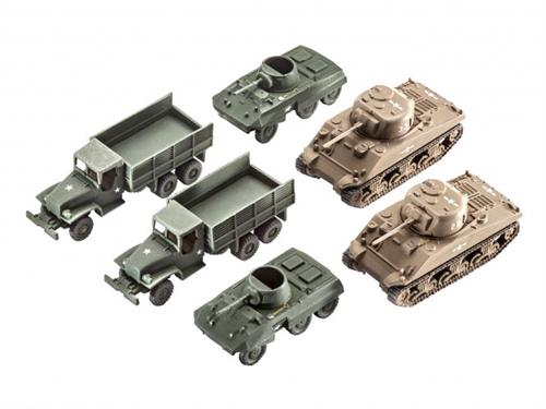 US Army vehicles WWII - 1:144 - Revell