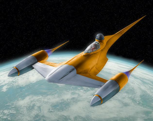 STAR WARS Naboo Starfighter - 1:109 - Revell