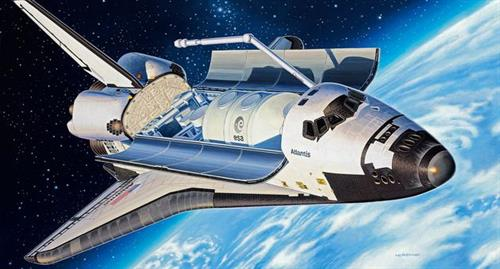 Space Shuttle Atlantis - 1:144 - Revell