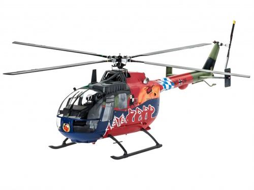 BO 105 35th Anniversary of Roth Fly-Out Version - 1:32 - Revell (Udsolgt fra fabrik)