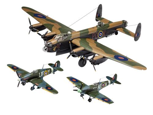 "Gift-Set: 100 Years RAF ""British Legends"" - 1:72 - Revell"