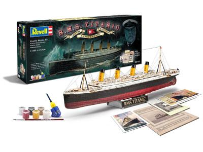 "Gavesæt ""R.M.S. Titanic"" 100th Anniversary Edition - 1:400 - Revell"